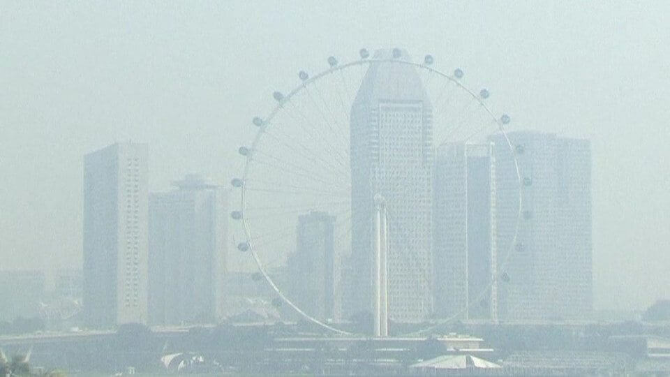 Haze in Singapore Bringing Down Business