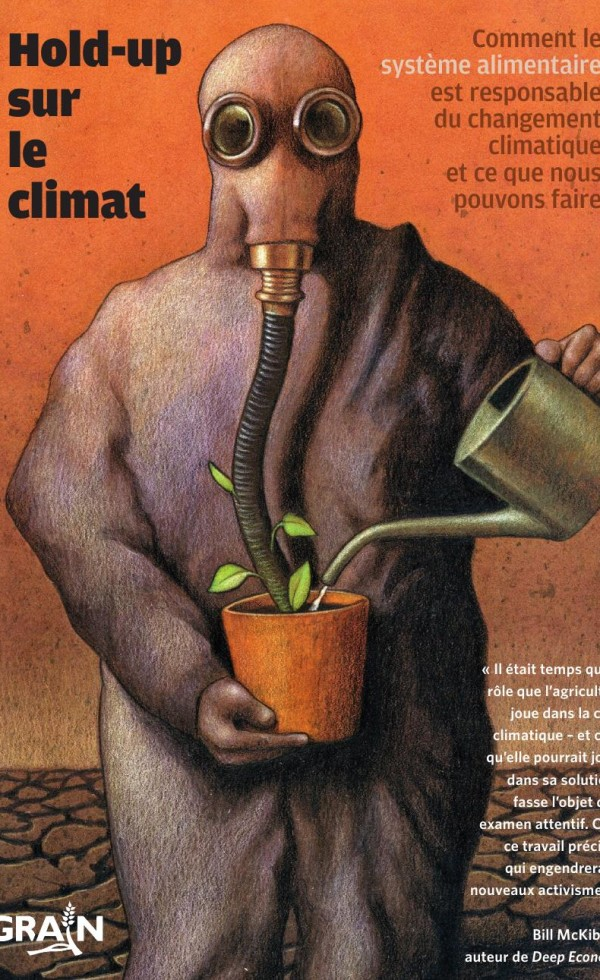 Couverture Hold Up sur le climat