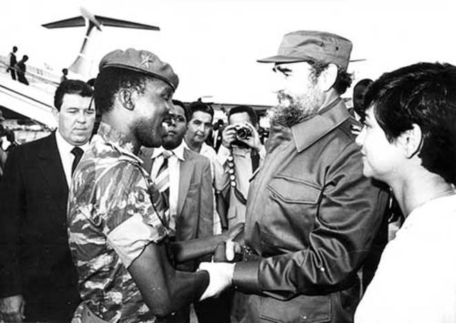 Risultati immagini per Fidel Thomas Sankara