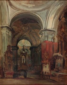 Genáro Pérez Villamil- Interior de San Isidro.