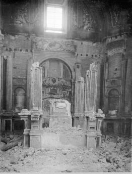 El Baldaquino tras la Guerra Civil.