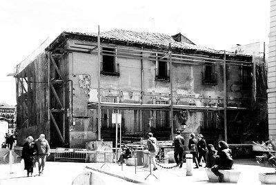 Casa de Iván de Vargas antes de su derribo