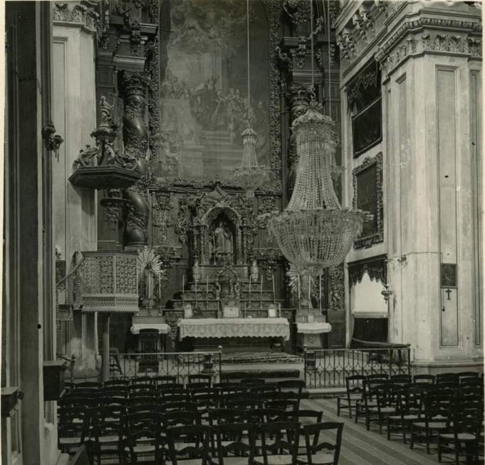 Interior del Colegio de Niñas de Léganes