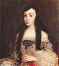 1. Juan Carreño de Miranda: María Luisa de Orleans. Banco de Sabadell.