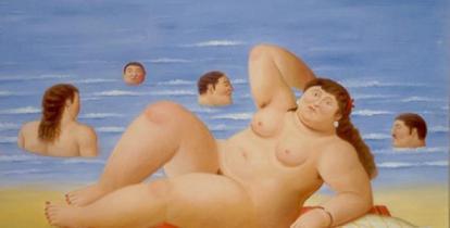 Fernando Botero: Bañistas