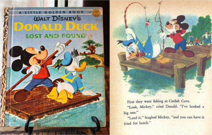 CARL BUETTNER, BOB GRANT & BOB TOTTEN- Donald Duck. Lost and Found, 1660.