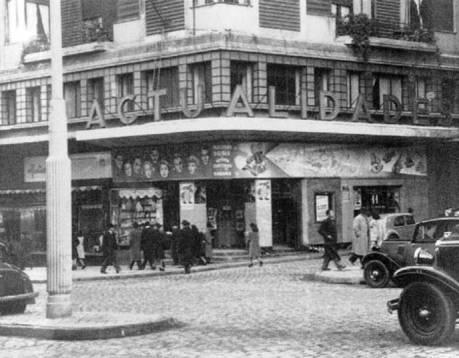 Antiguo Cine Actualidades en Gran Vía nº 48