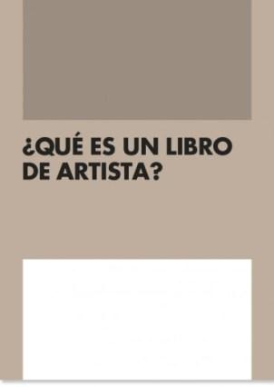 """Portada """"¿Qué es un libro de artista?"""". Fotografías: © Archivo Lafuente."""