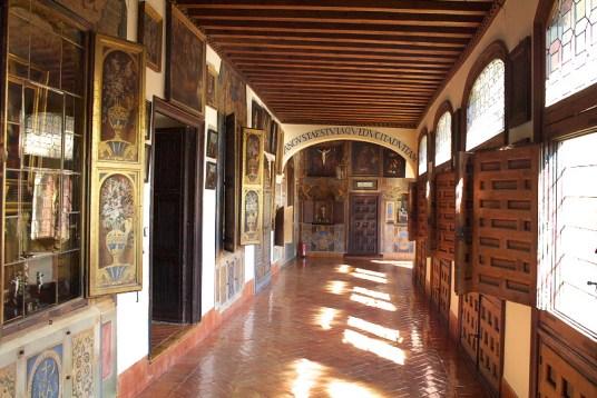 Claustro del Monasterio de Descalzas Reales.