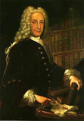 Don Juan de Goyeneche. Imagen reproducida por gentileza de la Asociación del Patrimonio Histórico de Nuevo Baztán.