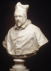 Gian Lorenzo Bernini: Cardenal Scipione Borghese. Galleria Borghese, Roma.