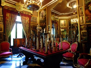 Sala de las columnitas. Museo Cerralbo, Madrid.