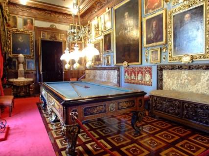 Salón de billar. Museo Cerralbo, Madrid.