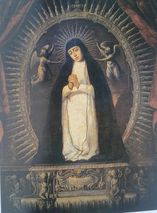 Anónimo madrileño: Virgen de la Soledad de las Victorias. Museo Nacional del Prado, en depósito en el Museo de Bellas Artes de Cáceres.