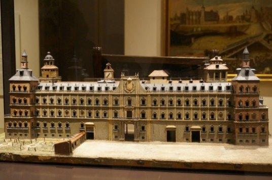 Juan Gómez de Mora: Maqueta del Alcázar de Madrid. Madrid, Museo de Historia de Madrid. Foto @Unsereno