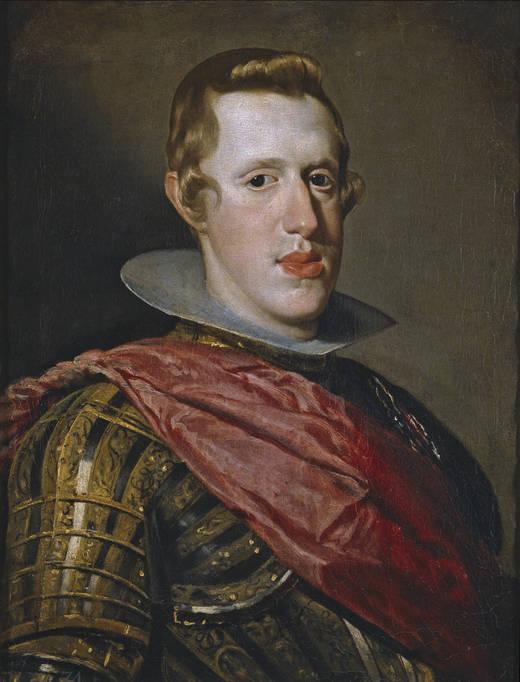 Diego Rodríguez de Silva y Velázquez: Felipe IV. Madrid, Museo Nacional del Prado.