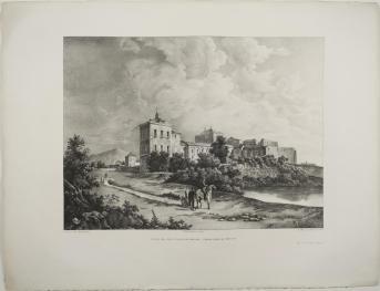 Fernando Brambilla: Vista del Sitio de Valsaín, ca. 1821. Madrid, Museo del Romanticismo.