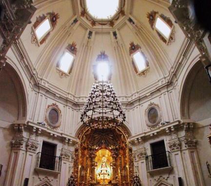 Interior de la Ermita de la Virgen del Puerto, Madrid.