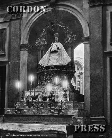 Vistas de la Virgen del Sagrio, ca. 1880. Foto: http://toledoolvidado.blogspot.com.es/2012/07/toledo-hacia-1880-fotografiado-por-leon.html