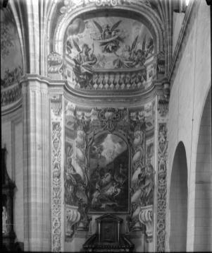 José Cano de Arévalo o Juan Vicente de Ribera: Capilla del Nacimiento o de la Adoración de los Pastores en la Iglesia de Santa María, Alcalá de Hernares (desaparecida).