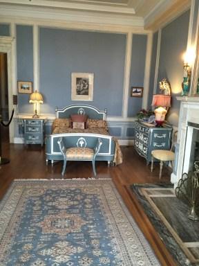 Imitación del dormitorio original de Lady Mary Pellat.
