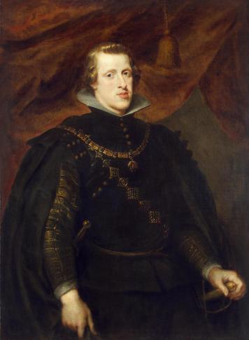 Pedro Pablo Rubens?: Retrato de Felipe IV. San Petersburgo, Museo del Hermitage.