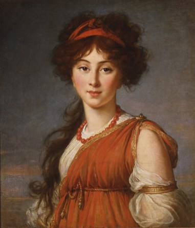 Elisabeth Louise Vigée Le Brun: Varvara Ivanovna Ladomirskaya, 1800. Columbus Museum of Art, Ohio, Museum Purchase, Derby Fund