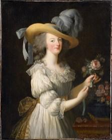 Elisabeth Louise Vigée Le Brun: Retrato de María Antonieta, 1783. Hessische Hausstiftung, Kronberg