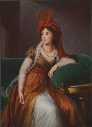 Elisabeth Louise Vigée Le Brun: Princess Anna Alexandrovna Golitsyna, ca. 1797. The Baltimore Museum of Art, The Mary Frick Jacobs Collection.