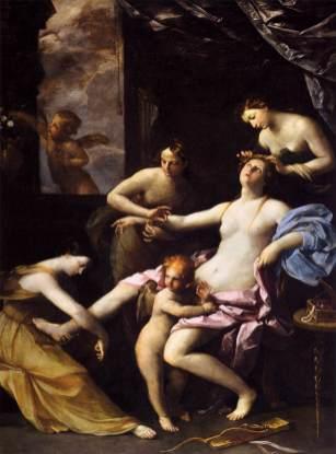 Guido Reni: Baño de Venus o Venus de la perla. ca. 1621. Nat. Gall. Londres. Foto: WGA.