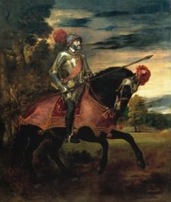 Tiziano: Carlos V en Mühlberg. Madrid, Museo Nacional del Prado.