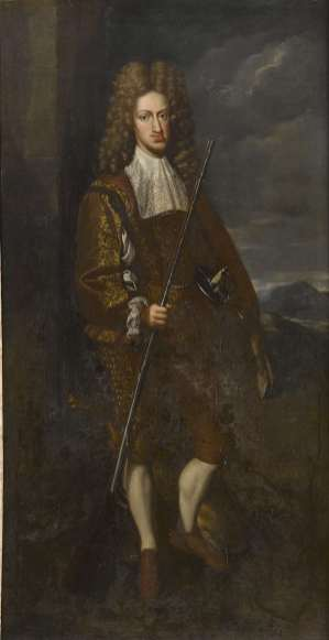 John Closterman: Retrato de Carlos II como cazador. Colección particular.