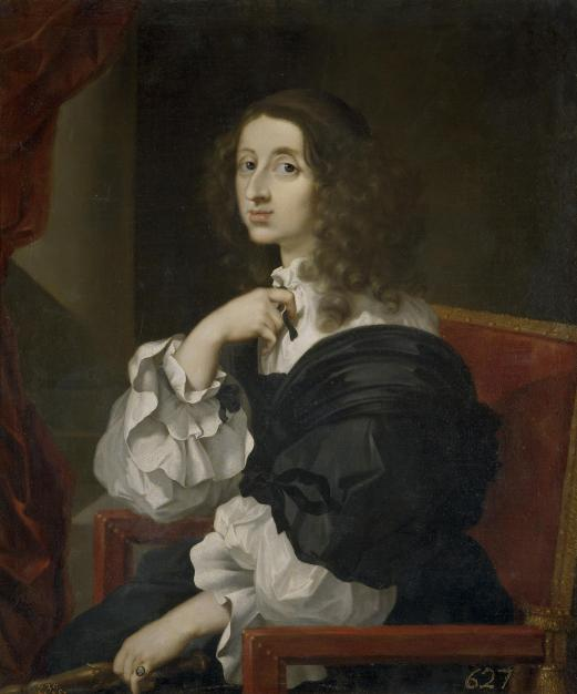 Sebastian Bourdon: La reina Cristina de Suecia. Madrid, Museo Nacional del Prado.