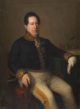 Antonio María Esquivel: Retrato de Juan Álvarez Mendizábal. Museo del Prado
