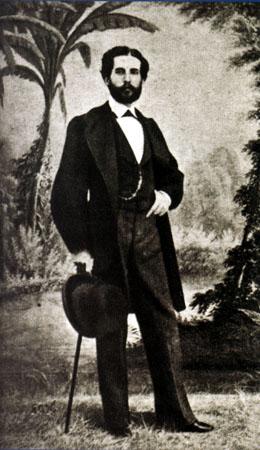 J. Laurent: Retrato de Gustavo Adolfo Becquer. Biblioteca Nacional de España.