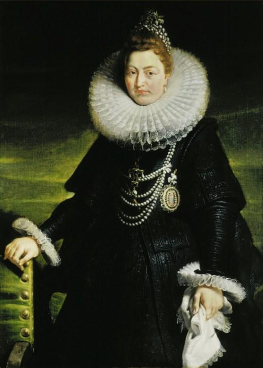 Pedro Pablo Rubens: Retrato de la Archiquesa Isabel Clara Eugenia. Amberes, Rubenshuis.