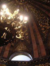 Detalle de la decoración de bronces de la bóveda. Foto: wiki commons