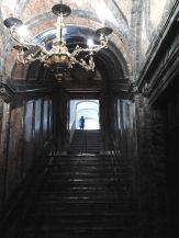 Escalera de bajada al Panteón. Foto: wiki commons