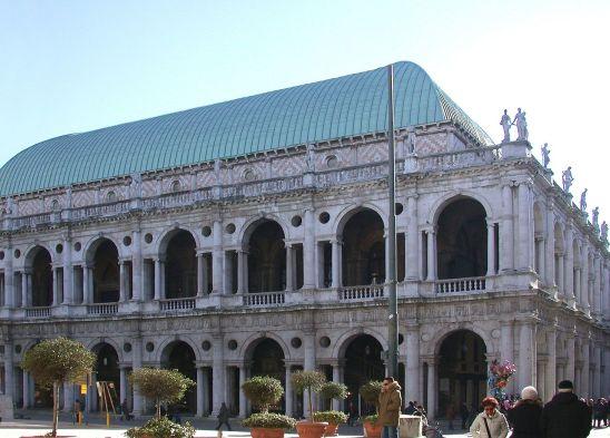 Andrea Palladio. Basílica de Vincenza. foto: wikicommons