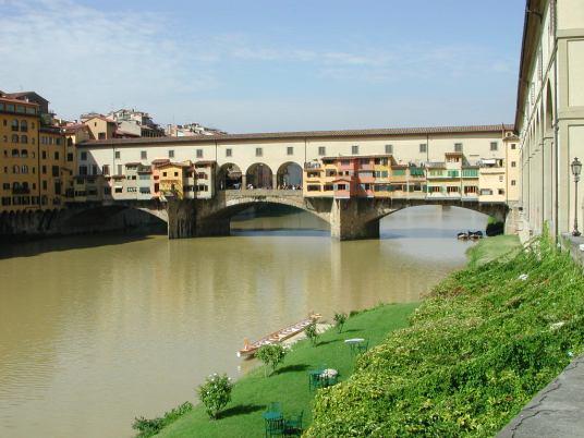 Ponte Vecchio de Florencia. Foto: wikicommons