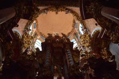 Cúpula capilla del Sagrario. Cartuja del Paular