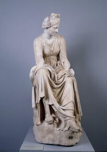 Anónimo: La Musa Caliope. Madrid, Museo Nacional del Prado.