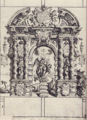 Fray Juan Andrés Rizi. Lámina de la Inmaculada. La pintura sabía. Foto: Wikipedia.