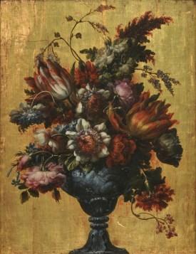 Bartolomé Pérez: Jarrón de flores. Madrid, Museo Nacional del Prado.