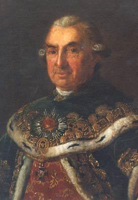 Anónimo. Samuel von Brukenthal con el hábito de la orden de San Estéban. Foto: Wikipedia