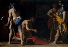 Massimo Stanzione. Degollación del Bautista. Museo del Prado.
