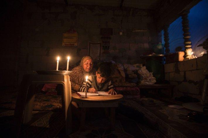 Mahmud Hams: Campo de refugiados en Gaza