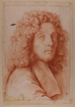 Carlo Maratta: Autorretrato. RBASF, nº inv. D-1606.