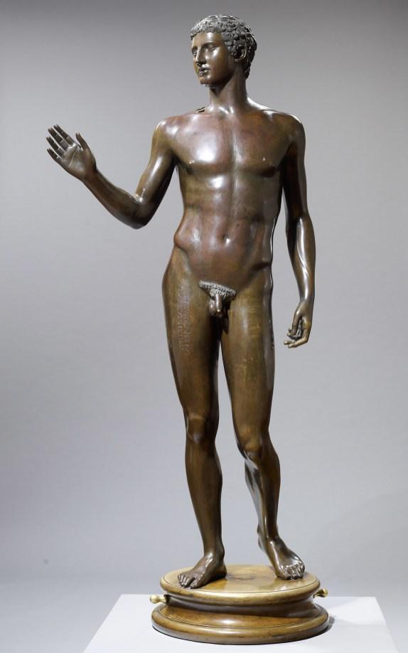 Joven de Magdalensberg. Copia del s.XVI de un original romano del s. I a.C. Museo de la Historia del Arte en Viena.