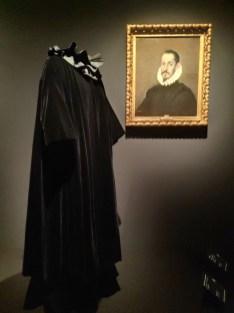 Balenciaga y un caballero del Greco
